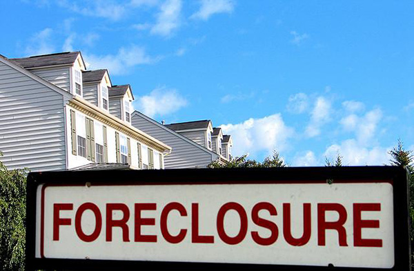Foreclosure Sign in Louisiana